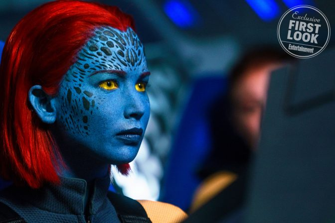 See Mystique's New Look