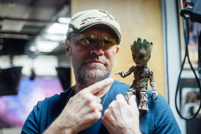 Michael Rooker Surprises Sideshow Live- Plus a Signed Groot Giveaway!
