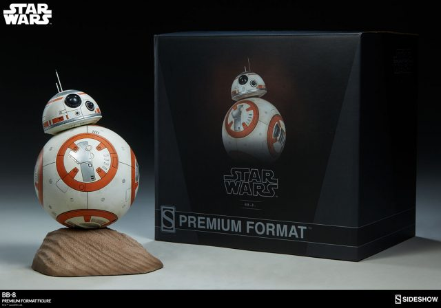 New photos of the BB-8 Premium Format Figure rolled into Sideshow!