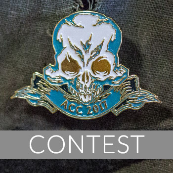 Court of the Dead Argentina Comic-Con 2017 Pin Giveaway