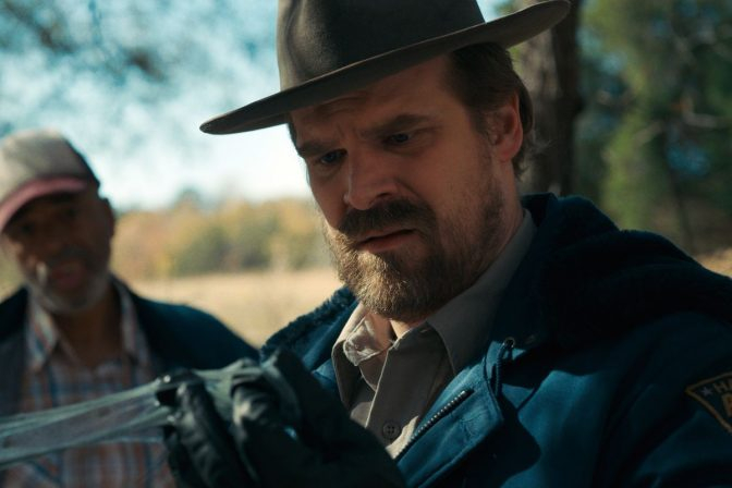 David Harbour Hopes for Hopper and Steve Team-Up in Stranger Things 3