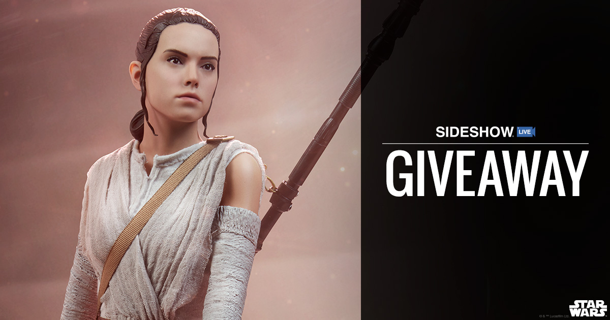 Sideshow Live Rey Premium Format Figure Giveaway