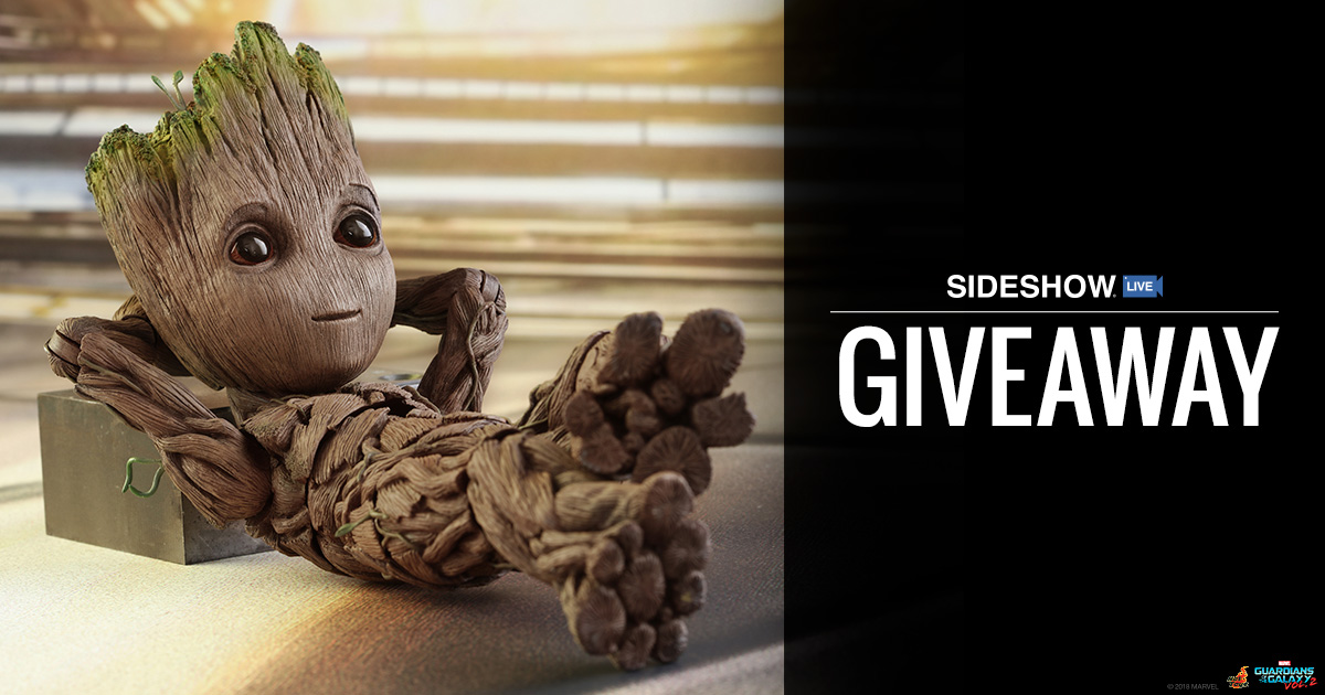 Sideshow Live Groot Giveaway