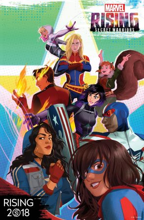 Marvel Rising Animated Feature Set for 2018