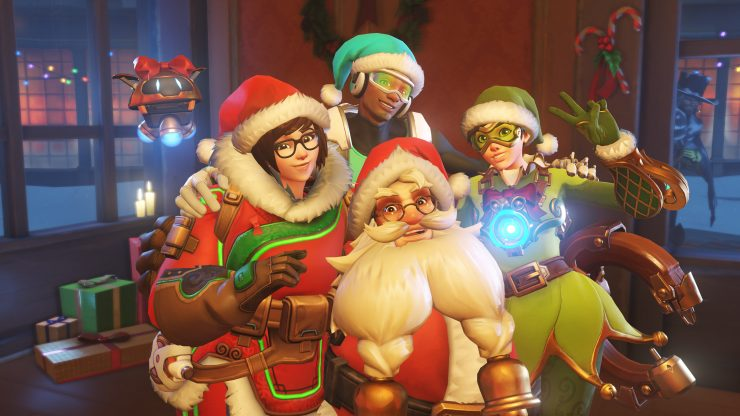 Blizzard Launches Overwatch Winter Event