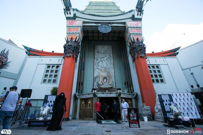 TCL Chinese Theatre Star Wars Exhibit