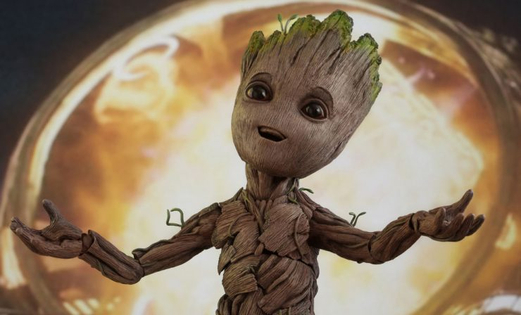 Guardians Director James Gunn Got a Groot!