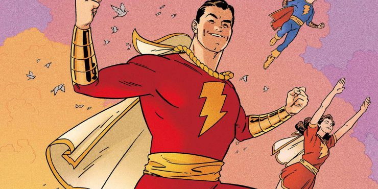 Shazam Movie To Begin Filming in February 2018