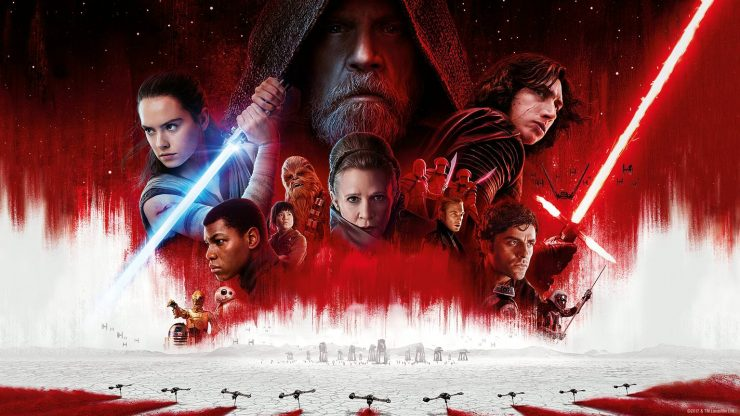 Star Wars: The Last Jedi Opens to $45 Million