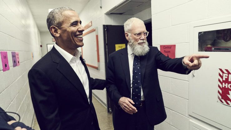 David Letterman Netflix Series to Launch with Barack Obama Interview