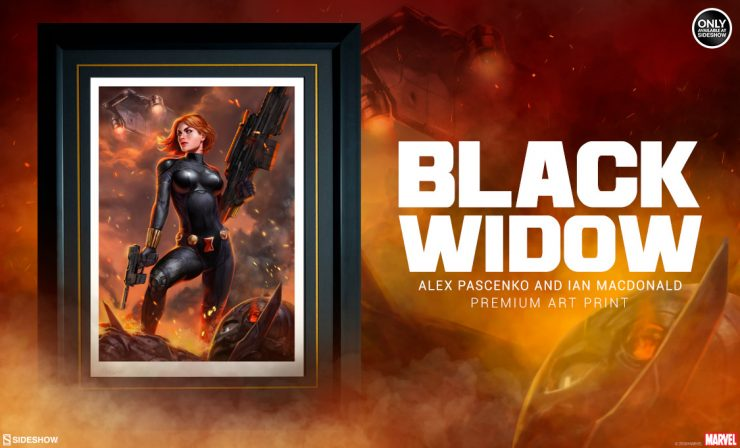 Black Widow Premium Art Print