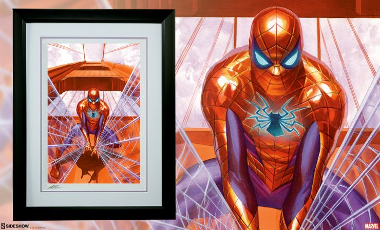 Alex Ross Spider-Man: Trouble in San Francisco Fine Art Lithograph