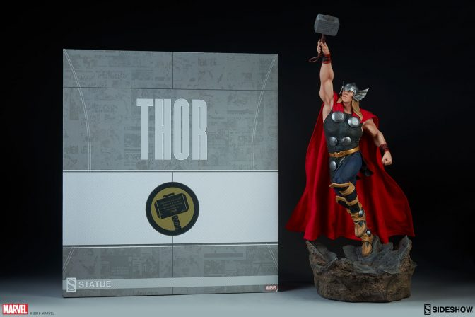 Avengers Assemble! New Thor Statue photos have arrived!