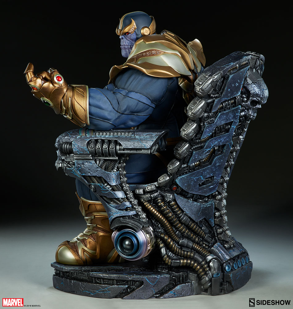 New photos of thanos on throne maquette have arrived for Maquette stand