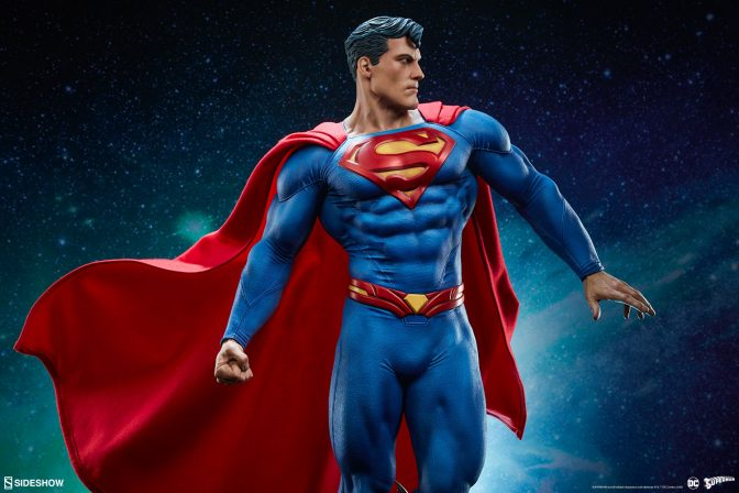 The Superman Premium Format™ Figure Soars into Your Collection!