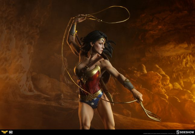 By Athena's Shield! The Wonder Woman Premium Format™ Figure Approaches