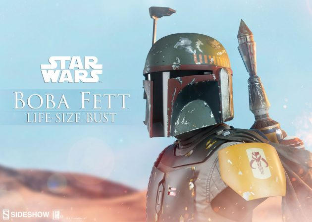 Hunt No Further for the Boba Fett Life-Size Bust!