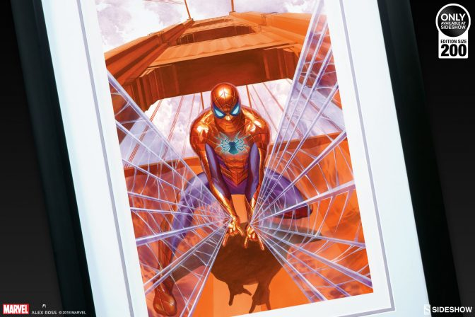 Spider-Man Tackles Trouble in San Francisco in New Alex Ross Art Print