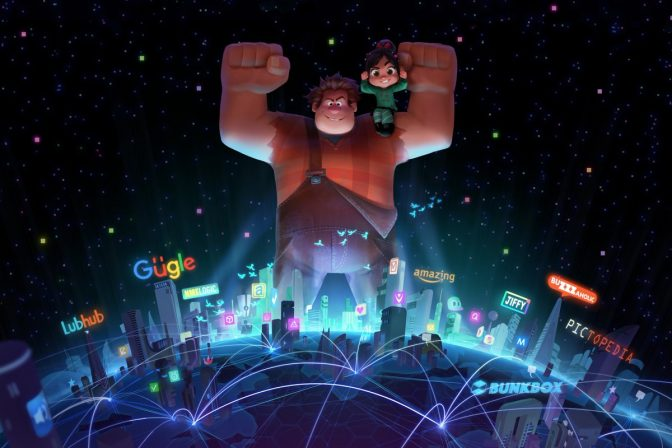 Wreck It Ralph Wrecks 2017 in New Year's Teaser
