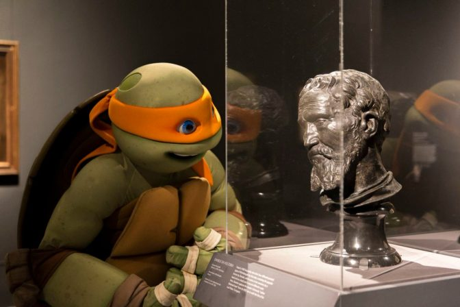 Michelangelo Meets Michelangelo at New MET Exhibit
