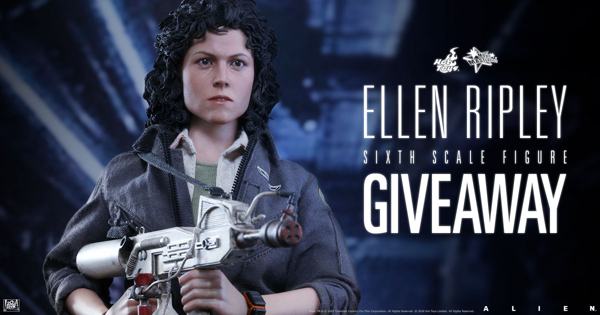 February 2018 Ellen Ripley Figure Newsletter Giveaway