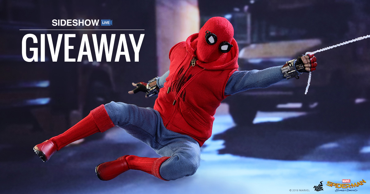 Sideshow Live Spider-Man Giveaway