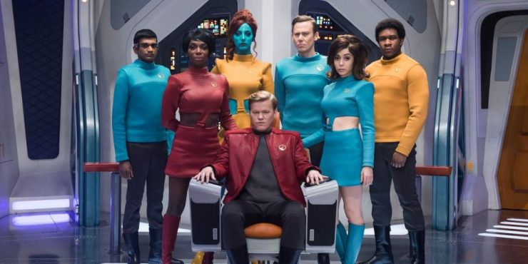 The USS Callister Crew, Trapped in a Simulation