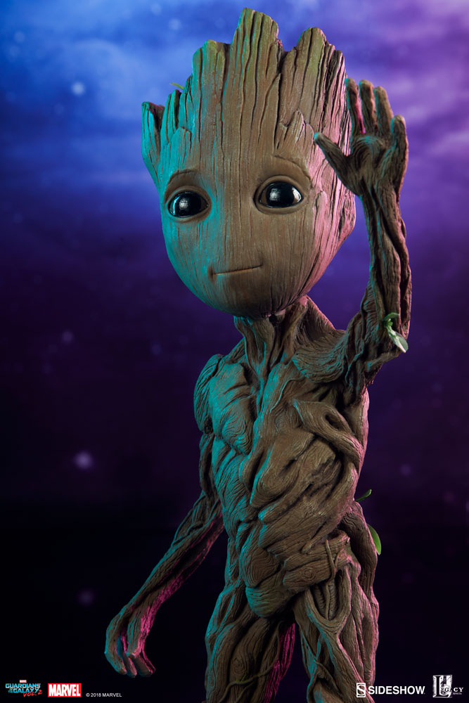 Check Out The New Photos Of The Baby Groot Maquette