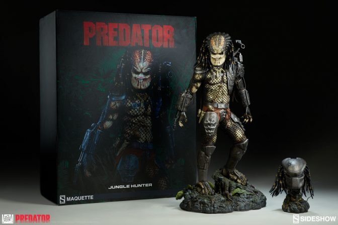 New Photos of the Predator Jungle Hunter Maquette are here!