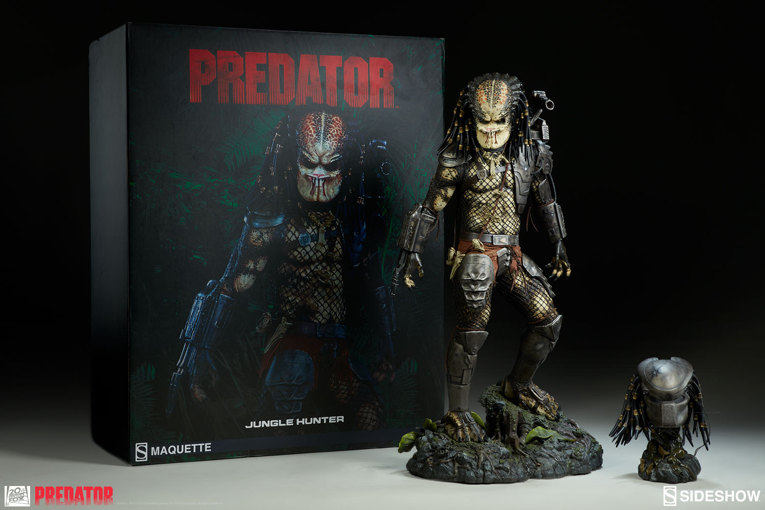 osw.zone New Photos of the Predator Jungle Hunter Maquette are here!