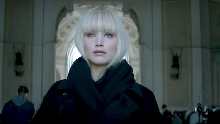 Fox Releases Official Red Sparrow Trailer