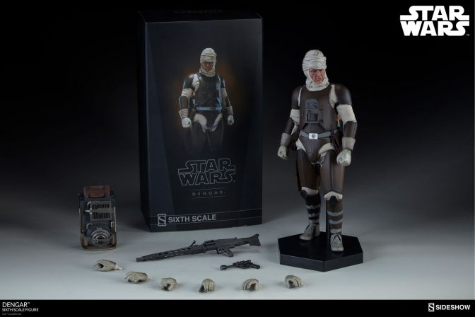 New Photos of the Corellian Bounty Hunter Dengar are here!