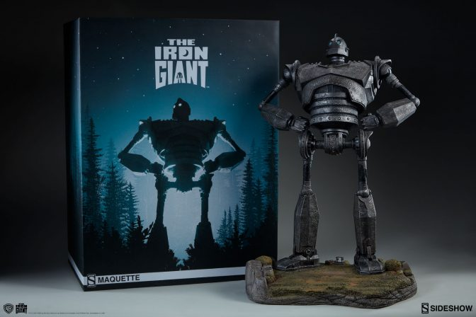New Photos of the Iron Giant Maquette have arrived!