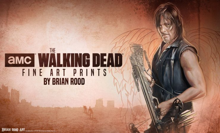 AMC's The Walking Dead Fine Art Prints by Brian Rood