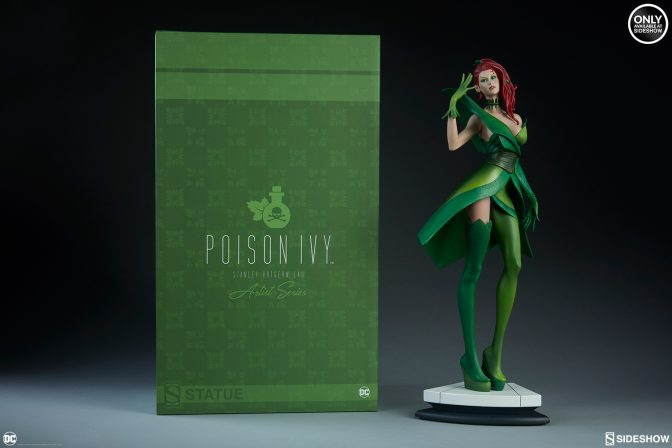 Check out the new photos of the Stanley Lau Poison Ivy Statue