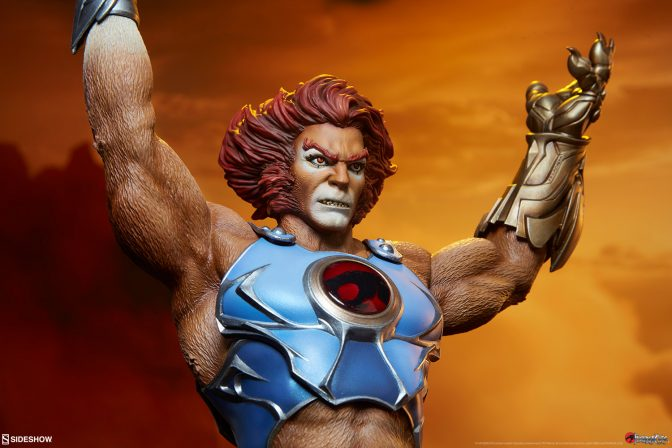 The Lion-O Statue Roars into Action!