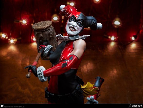 The Harley Quinn Premium Format™ Figure Brings Fun House Hijinks!