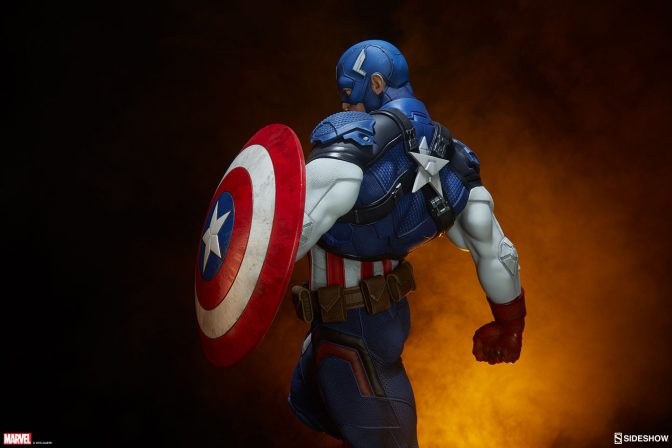 Shield Your Shelf With the Captain America Premium Format™ Figure!