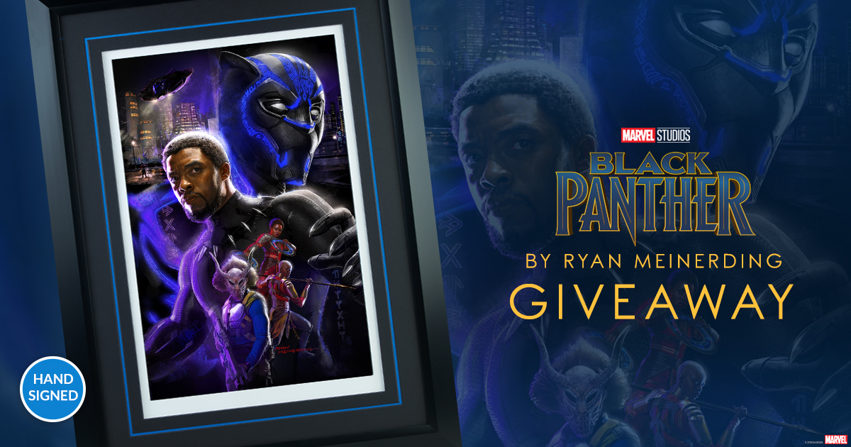 Black Panther Fine Art Print Giveaway