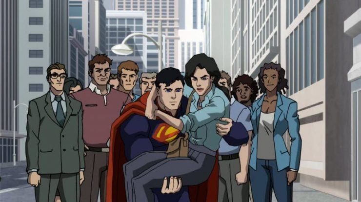 First Look at Death of Superman Animated Feature