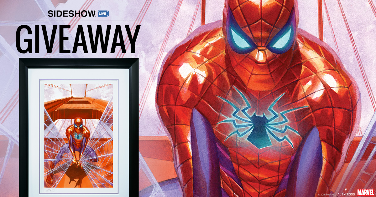 Sideshow Live Spider-Man Art Print Giveaway
