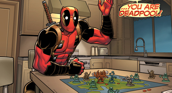 Choose Your Own Deadpool Adventure