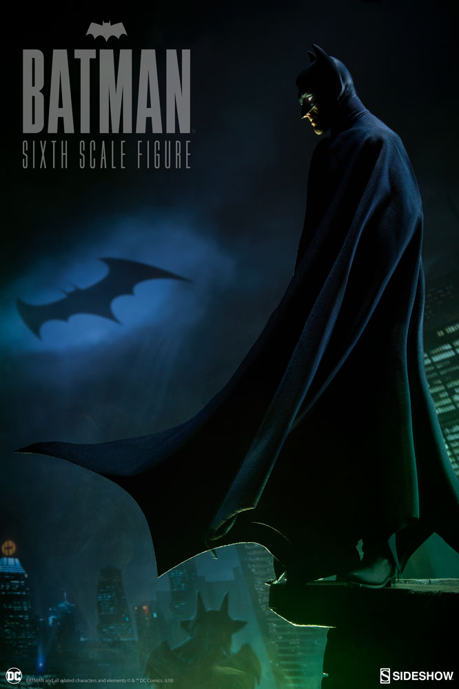 The Batman Sixth Scale Figure Steps Out Of The Shadows Sideshow