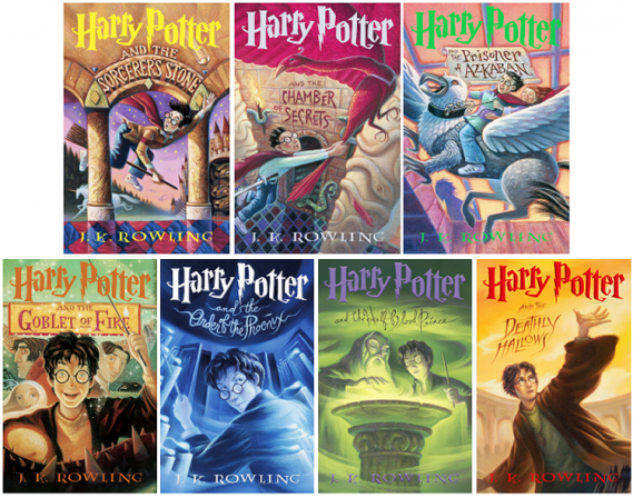 Harry Potter Becomes Best-Selling Series