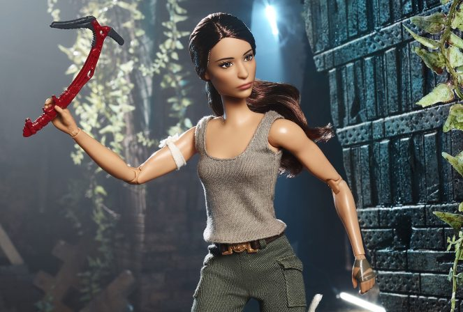 Mattel Reveals Tomb Raider Barbie