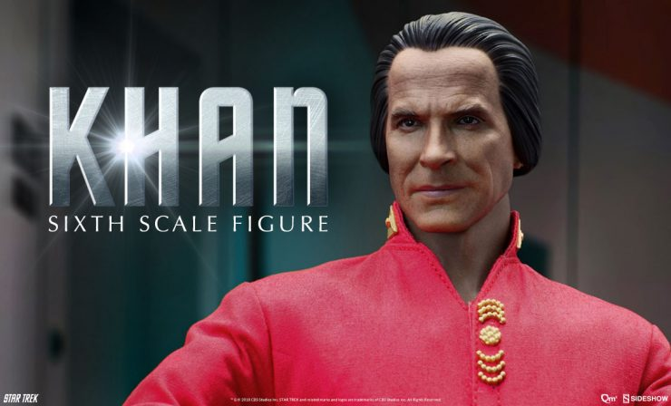 Quantum Mechanix Khan Sixth Scale Figure