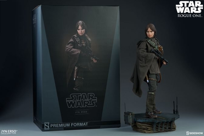New Photos of the Jyn Erso Premium Format Figure are here!