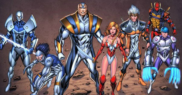 Liefeld's Extreme Universe Finds Netflix Home
