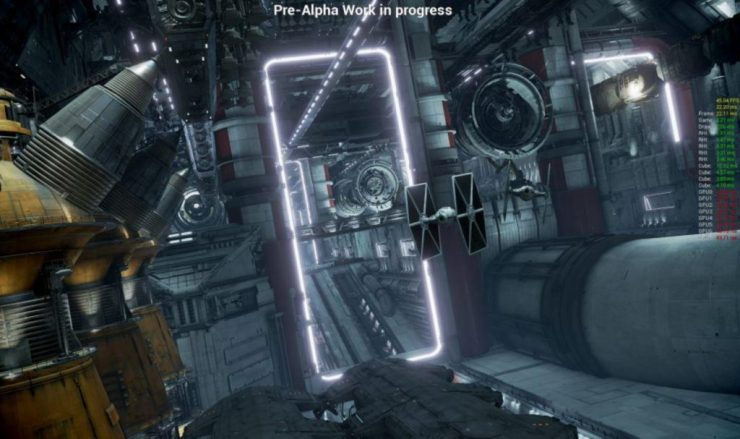 A First Look at the Millenium Falcon Disney Attraction