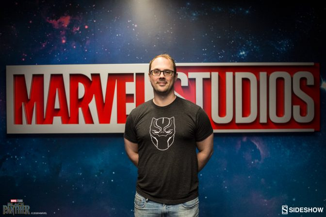 Ryan Meinerding Signs Black Panther Fine Art Prints at Marvel Studios HQ!